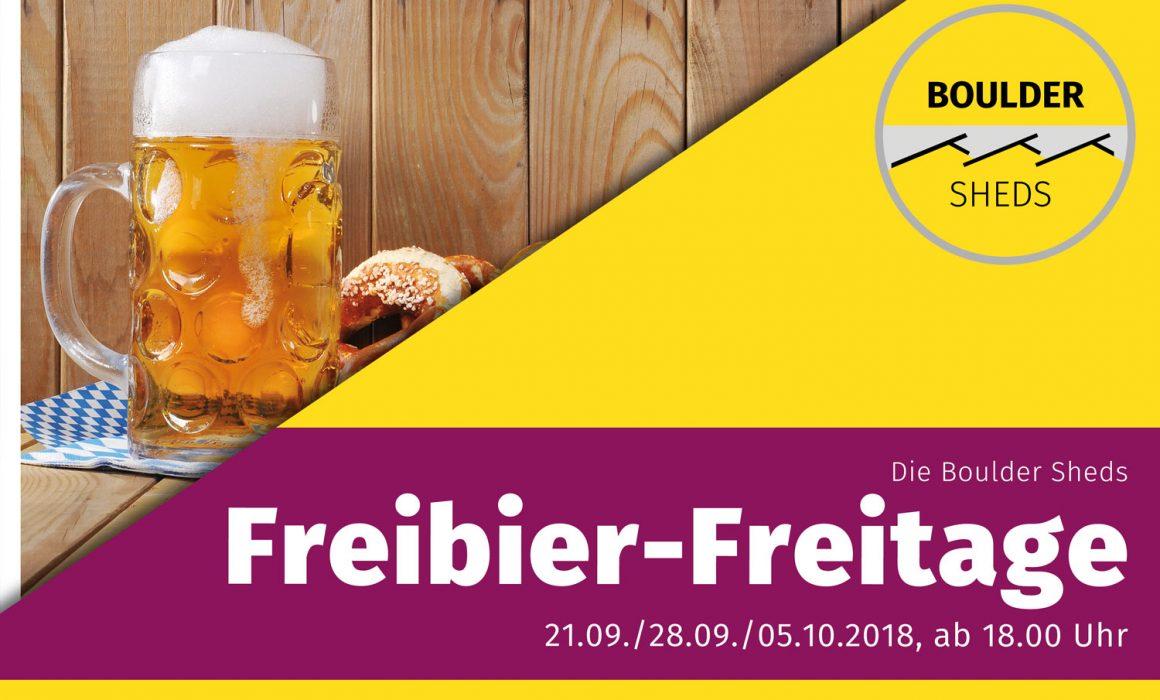 Infoplakat Freibier-Freitage