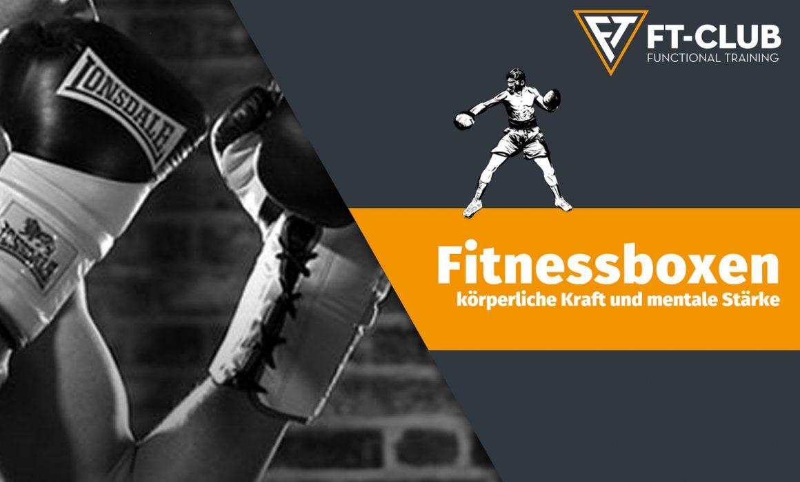 Infoplakat Fitnessboxen