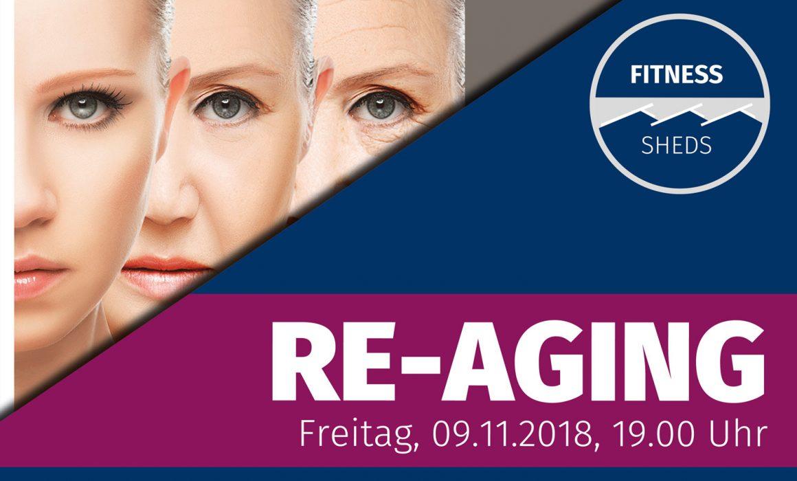 Infoplakat Vortrag Re-Aging