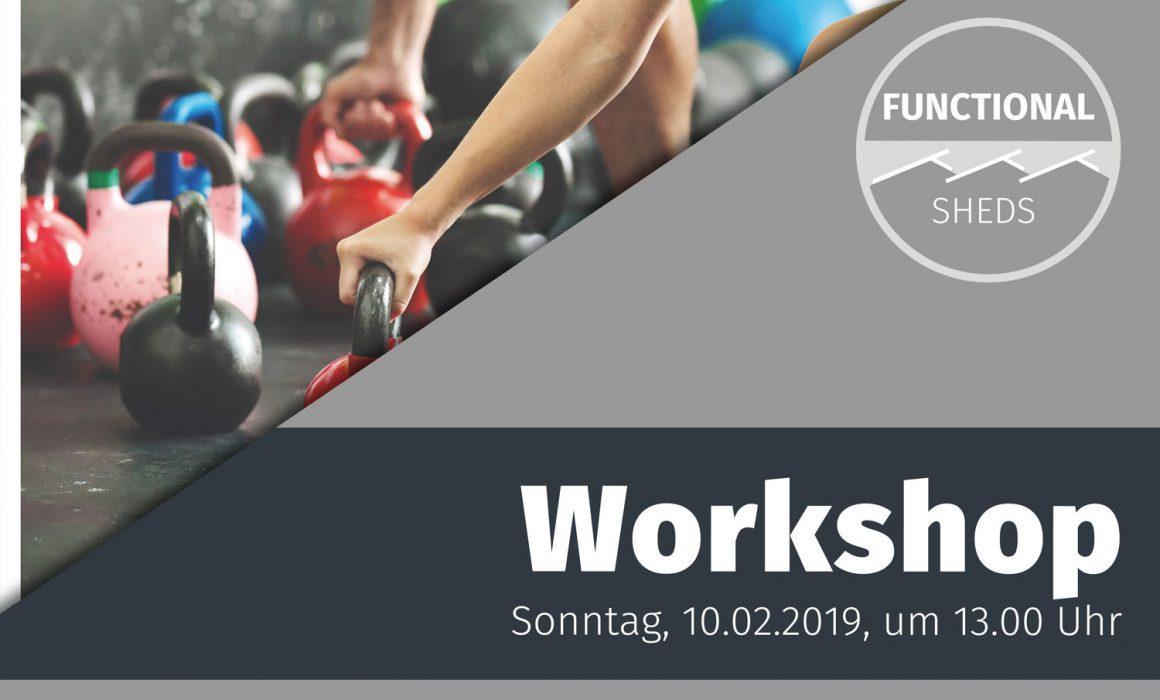 Infoplakat Functional Workshop