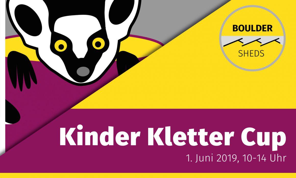 Plakat Kinder Kletter Cup