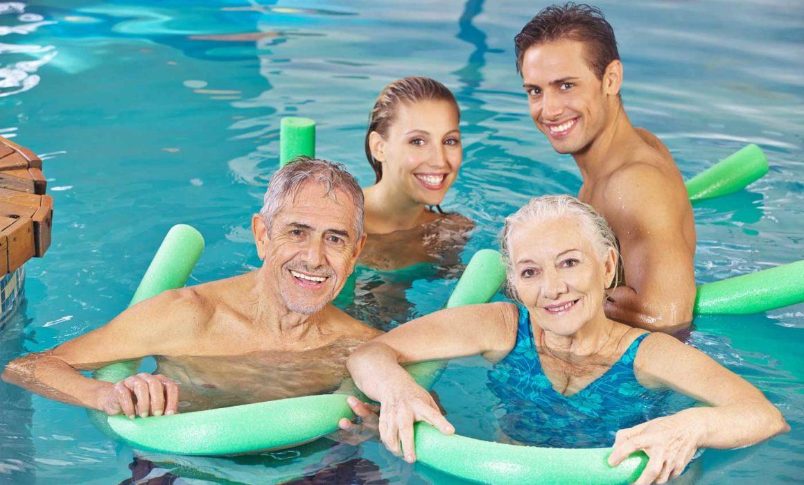 Fitness Augsburg - Aquafitness Kurse von den Sport Sheds
